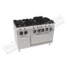 Cucina 6 fuochi con forno elettrico ventilato 1200×700 linea 700 Prestige