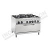 Cucina 6 fuochi con forno maxi gas 1200×900 linea 900 Prestige