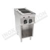 Cucina elettrica 2 piastre quadrate 400×900 linea 900 Prestige