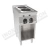 Cucina elettrica 2 piastre rotonde 350×700 linea 700 Compact