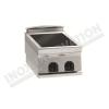 Cucina a induzione da banco 2 zone 350×700 linea 700 Compact