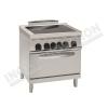 Cucina vetroceramica 4 zone con forno elettrico 700×700 linea 700 Compact