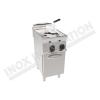 Friggitrice elettrica due vasche 8+8 litri 400×700 linea 700 Prestige