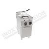 Friggitrice elettrica due vasche 8+8 litri 400×900 linea 900 Prestige