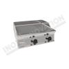 Fry top elettrico piastra 1/3 rigata da banco 700×700 linea 700 Compact