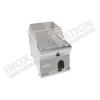 Fry top elettrico piastra cromata da banco 350×700 linea 700 Compact