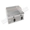 Fry top elettrico piastra cromata da banco 700×700 linea 700 Compact