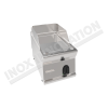 Fry top elettrico piastra liscia da banco 350×700 linea 700 Compact