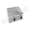Fry top elettrico piastra liscia da banco 700×600 linea 600