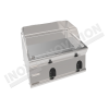 Fry top elettrico piastra liscia da banco 700×700 linea 700 Compact