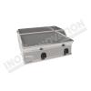 Fry top elettrico piastra rigata da banco 700×700 linea 700 Compact