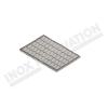 Teglia sagomata per baguette in alluminio